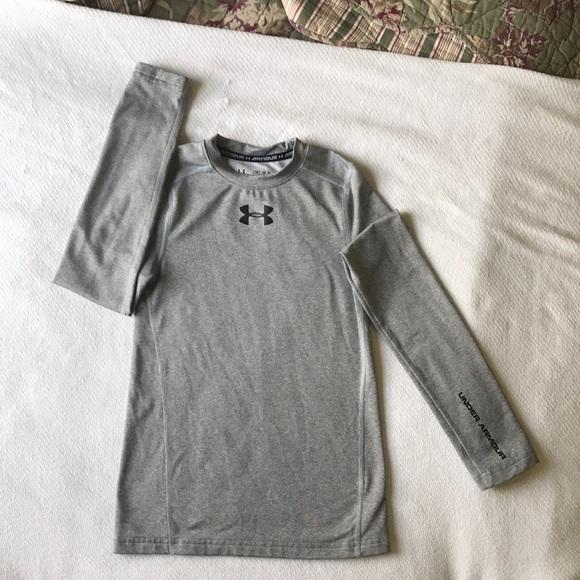 f4c570a24b Boys UA Cold Gear LS compression shirt.